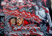 Street art Montreal junky