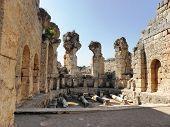 Remaining of  Roman bath of Perge.