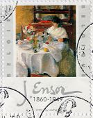 James Ensor Stamp
