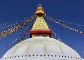 Boudhanath Stupa, Symbol Of Kathmandu, Nepal