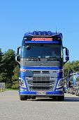 New Volvo FH Tank Truck, Front View