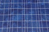 pic of solar battery  - Solar panel close up in sunny day - JPG