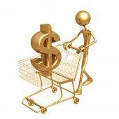 Shopping Cart Dollar
