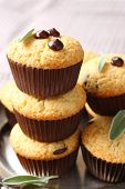 Delicious Homemade Gluten Free Muffins With Chocolate Drops