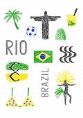 Typical Symbols Of Brazil