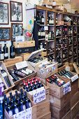 Chianti Wine Bottles In Sale