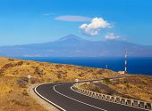 Road In La Gomera Island - Canary
