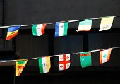 Strings Of National Flags