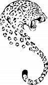 gepard head silhouette