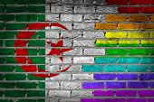 Dark Brick Wall - Lgbt Rights - Algeria