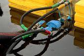 United hoses in oil