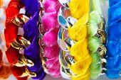 Velvet And Chain Bracelets