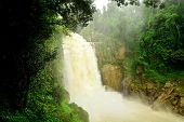 Haew Narok (chasm Of Hell) Waterfall, Kao Yai National Park, Thailand