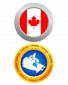 Button As A Symbol Of Canada