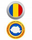 Button As A Symbol Romania