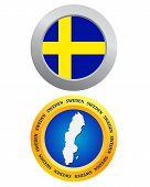 Button As A Symbol Sweden