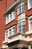 English red brick mansion