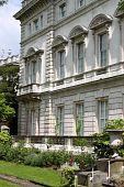 Renaissance palace garden