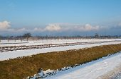 image of deportation  - The Auschwitz-Birkenau State Museum during the winter season