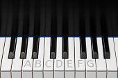 Piano Keyboard Octave