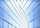glass background of modern architecture
