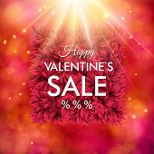 Dynamic Happy Valentines Sale design