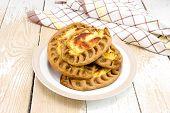 Traditional Karelian Pies With Potatoes
