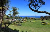 foto of st ives  - The Tregenna Gardens in St Ives Cornwall England - JPG