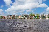 Zaandijk waterfront, Holland