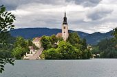 Assumption Church, Bled, Slovenia
