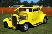 Canary Yellow 1931 Ford