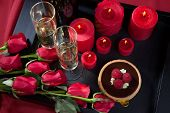 image of trays  - Celebration tray for Valentines Day  - JPG