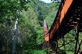 Abandoned Coal Mining Conveyor