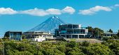 picture of mew  - Wonderful architecture home with mountain Taranaki in the background - JPG
