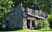 Quebec, The Historical Village Of Val Jalbert
