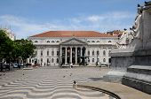 Portugal, The District Of Baixa In Lisbon