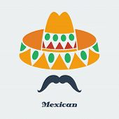 Vector mexican