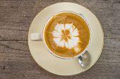 Mocha Coffee, Put On Light Wood Flooring.