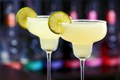 stock photo of rocking  - The margarita is a cocktail consisting of tequila mixed with orange - JPG