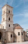 pic of larnaca  - Famous Saint Lazarus christian church at Larnaca Cyprus - JPG