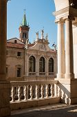 stock photo of vicenza  - The facade of St - JPG