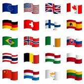 Collection Of Country Flags 2