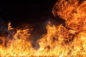 picture of big-bang  - Beautiful stylish fire flames - JPG