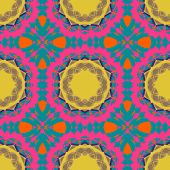 Vivid ornate pattern