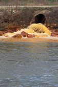 image of water pollution  - Pollution of Water - JPG