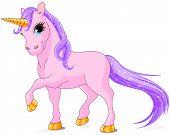 pic of unicorn  - Illustration of very cute unicorn - JPG