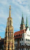 Old Nuremberg Gothic Broaches