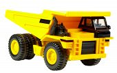 picture of dump-truck  - childs toy dump truck - JPG