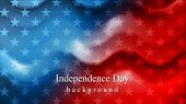 picture of wavy  - Bright wavy Independence Day background - JPG