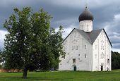 The Transfiguration Church On Iliyinye Street In Novgorod.